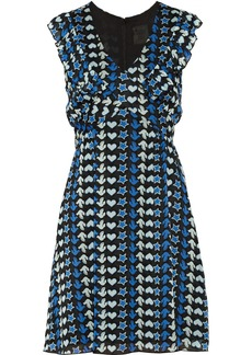 Anna Sui Printed georgette dress