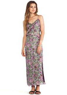 Anna Sui Sunflowers Print Maxi Dress
