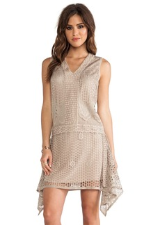 Anna Sui Wild Rose Crochet Lace Dress