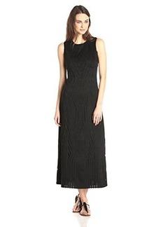 Anna Sui Women's Honeycomb Lattice Lace Maxi Dress