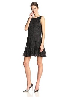 Anna Sui Women's Wild Rose Garden Lace Dress