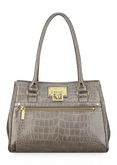 Anne Klein Alligator Alley Medium Satchel