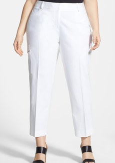 Anne Klein Cargo Capri Pants (Plus Size)
