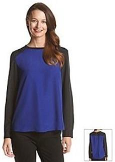 Anne Klein® Colorblock Blouse