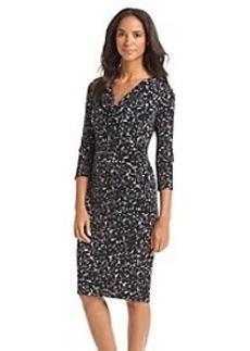 Anne Klein® Cowl Neck Sheath Dress