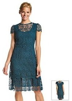 Anne Klein® Crochet Lace Dress