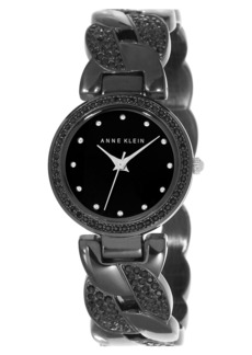 Anne Klein Crystal Accent Bangle Watch, 32mm