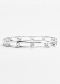 Anne Klein Crystal Bangle Bracelet