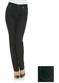 Anne Klein® Dark Wash Straight Denim Pant