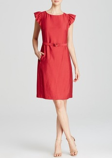 Anne Klein Dress - Ruffle Cap Sleeve