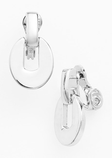Anne Klein Drop Clip Earrings