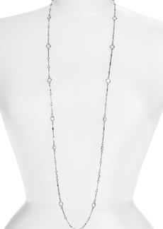 Anne Klein Extra Long Station Necklace