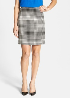 Anne Klein Glen Plaid A-Line Skirt