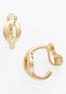 Anne Klein Hoop Clip Earrings