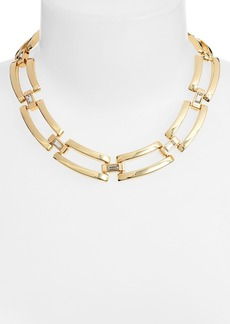 Anne Klein Large Link Collar Necklace
