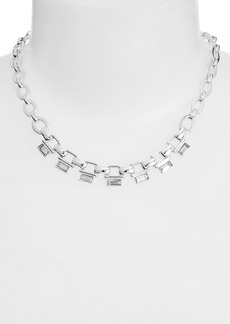 Anne Klein Link Frontal Necklace