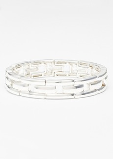 Anne Klein Link Stretch Bracelet