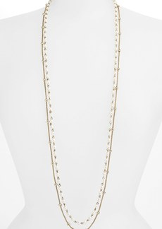 Anne Klein Long Double Strand Necklace
