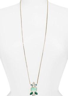 Anne Klein Long Pendant Necklace