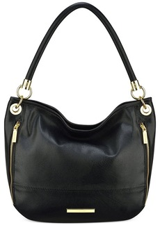 Anne Klein Military Luxe Large Hobo