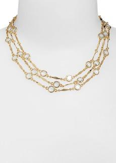 Anne Klein Multistrand Collar Necklace