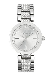 Anne Klein Pavé Crystal Bracelet Watch, 32mm