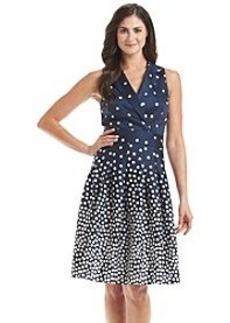 Anne Klein® Polka Dot Wrap Dress