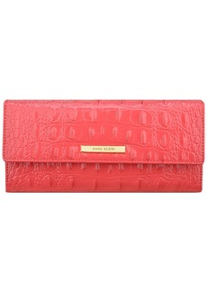 Anne Klein Pretty in Pink Continental Wallet