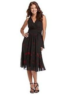Anne Klein® Printed Chiffon Dress