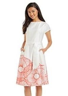 Anne Klein® Printed Hem Dress