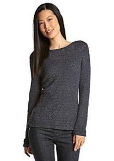 Anne Klein® Pullover Tape Yarn Sweater