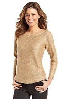 Anne Klein® Sequin Pullover Sweater