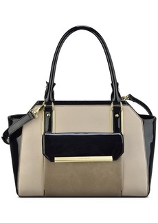 Anne Klein Shimmer Down Medium Satchel