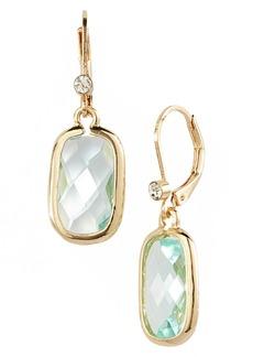 Anne Klein Stone Drop Earrings