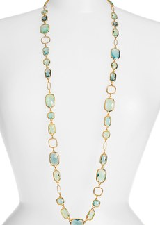 Anne Klein Stone Long Necklace