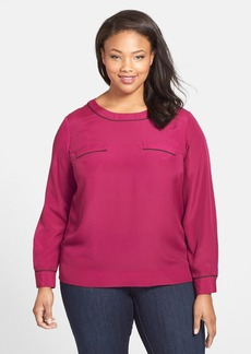 Anne Klein T-Shirt Blouse (Plus Size)