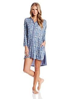Anne Klein Women's 3/4 Sleeve Sleepshirt Rayon Span Jersey
