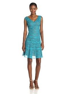 Anne Klein Women's Lace Swing Dress