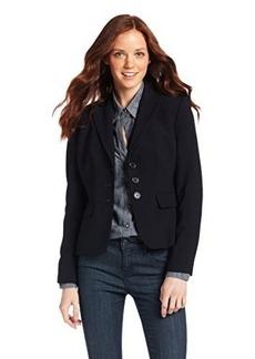 Anne Klein Women's Petite 3 Button Peak Suit Jacket