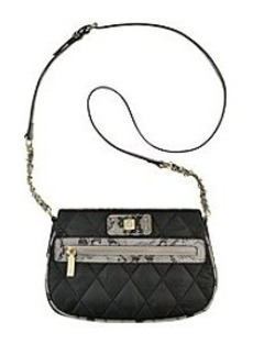 Anne Klein® Zip Line Crossbody Bag