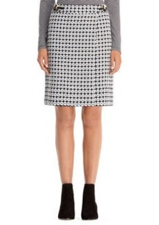 Basket Weave Wrap Skirt