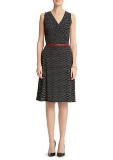 Dot Print Dress