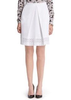 Eyelet Border Skirt