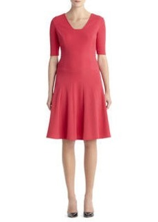 Knit Fit N Flair Dress