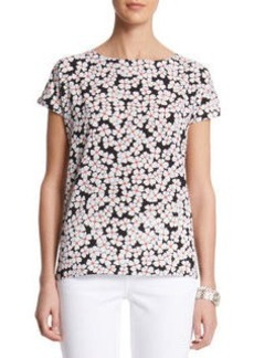 Mini Floral Print T shirt