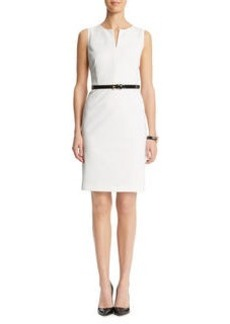 Panel Bodice Sheath Dress