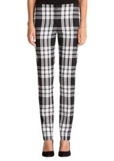 Plaid Slim Pant