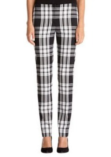 Plaid Slim Pant