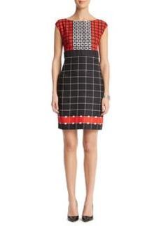 Print Sheath Dress
