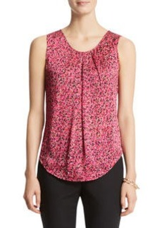 Scoop Neck Pleated Camisole